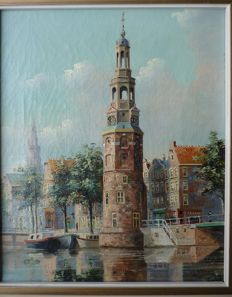 George Jan Dispo (1922-1973) -  Montelbaanstoren Amsterdam