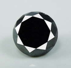 Black Diamond – 2.21 ct - No reserve