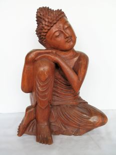 Buddha in resting position - Balti - Ubud - Late 20th century