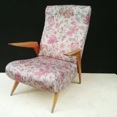 Armchair, vintage design - mid 20th century
