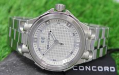 Concord - C2 Big Date - Swiss Made - Stainless Steel Mens Watch - New
