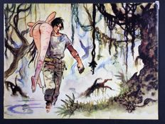 "Manara, Milo - brochure ""Turn On The Click"" (1985)"