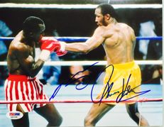 Sugar Ray & Thomas Hearns  Original Signed Photo ( 20 x 30 cm ) - with Certificate of Authenticity PSA/DNA