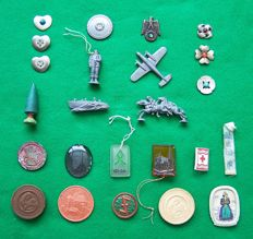 Third Reich WHW Winterhilfswerk badge Collection 1933-1945