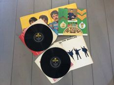 The Beatles two original U.K. albums