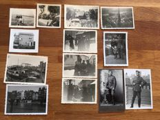 13 photographs, mostly from the Netherlands. Including armoured forces, Dutch military, Amsterdam
