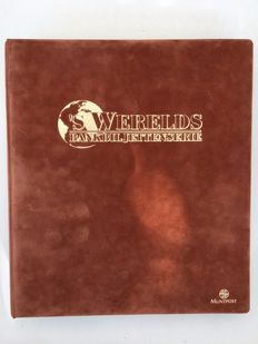 World - 120 banknotes from different countries in 3 albums by Muntpost