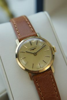Longines - 18K Gold-plated Ladie's wristwatch