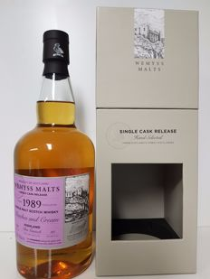 Glen Garioch 25 Years 1989 Peaches And Cream Wemyss Single cask