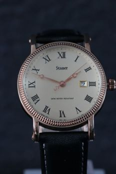 Stauer Classic - men's wristwatch - never worn