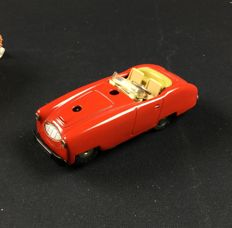 Schuco, Western Germany - L. 11 cm - Tin Variant Cabriolet 3045, 1950s