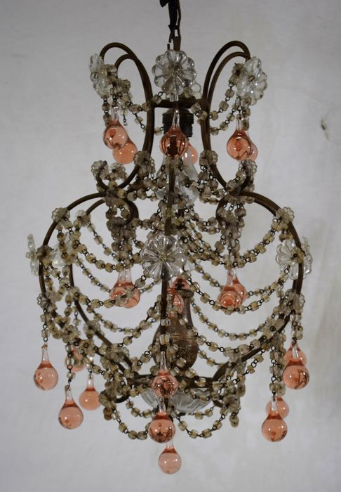 Crystal chandelier - Italy - early 20th century