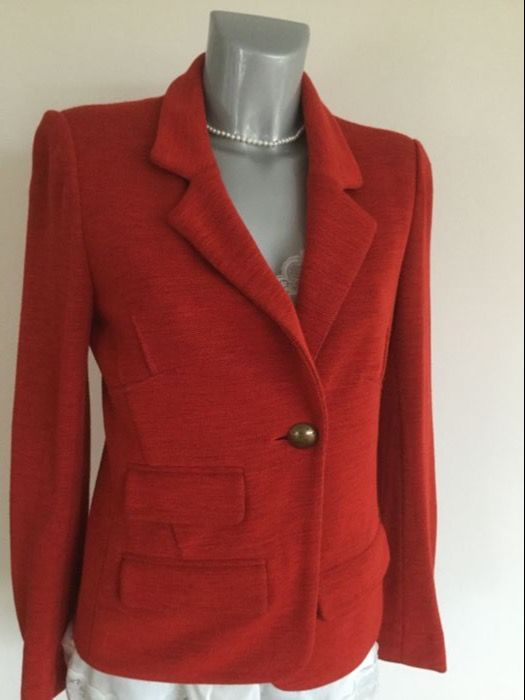 Sonia Rykiel blazer in a beautiful red
