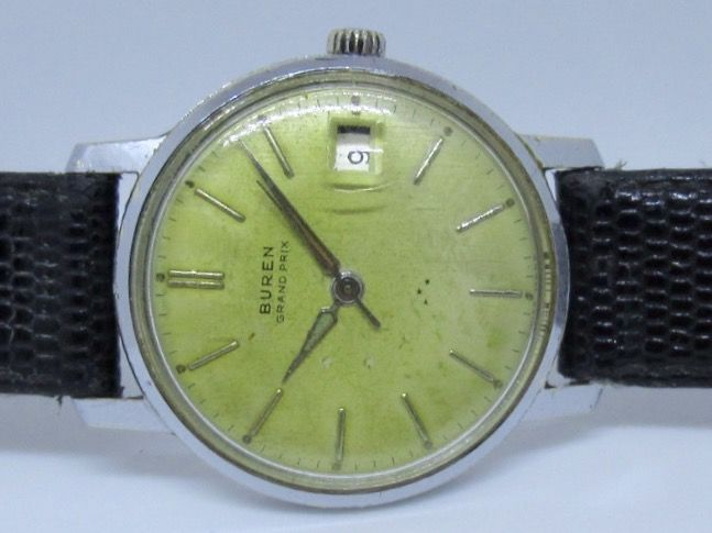 Buren Grand Prix men's watch, circa 1960