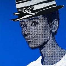 Alessandro Padovan (Drill Monkeys Art Duo) - AUDREY HEPBURN