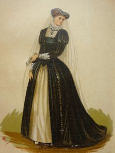 Ardern Holt - Fancy dresses described; or, what to wear at fancy balls - circa 1882