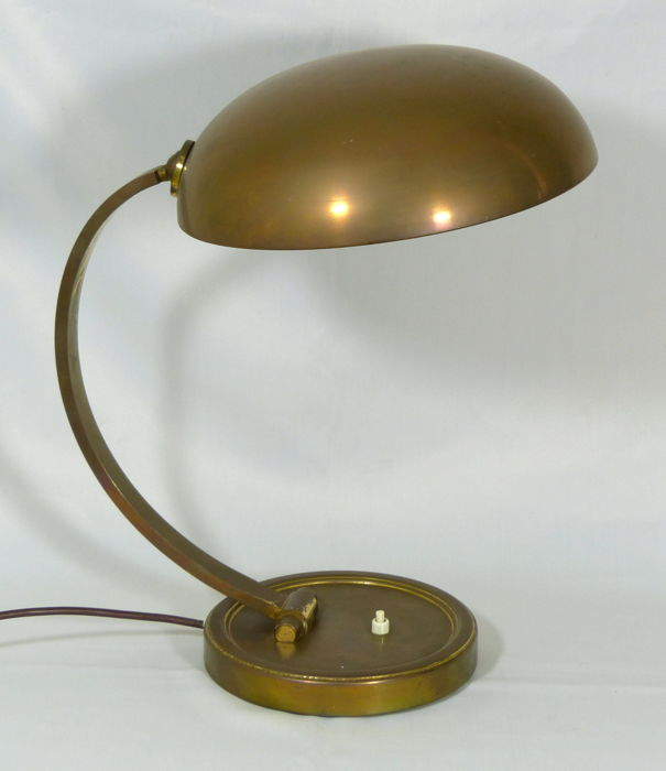 Unknown Designer   Brass Desk Lamp
