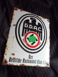 DDAC III Reich enamelled shield