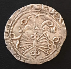 Spain - Catholic Monarchs - 1 silver real - Mint of Seville - Mint and assayer on obverse - 1474 to 1504