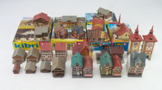 """Kibri Z - a.o. 6800/6870/6784 - Collection of scenery with 23 old-town buildings and houses for the """"Alpine"""" mountains"""