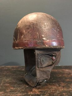 1930 Cromwell UK motorcycle helmet - c.1930