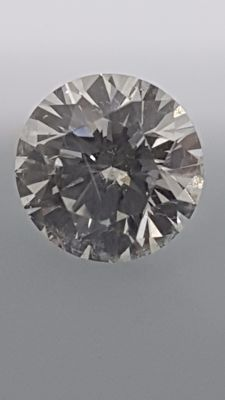 1.05 ct - Round Brilliant - White - D / VS2