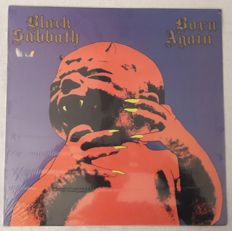 Black Sabbath - Set of 5 Hardrock LP Album