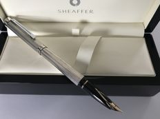 Sheaffer Targa 1024 Sterling Lined Silver. Fountain pen. As new.