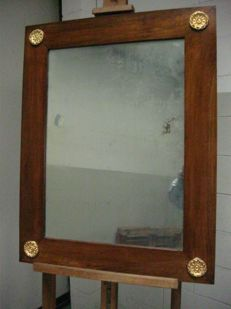 Mirror in Empire style, Italy, 19th century