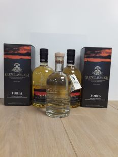 3 bottles - Glenglassaugh 2x Torfa & 1x Glenglassaugh 'Spirit Drink that Dare not Speak its Name'