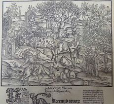 Gruninger Master; Virgil - Brandt Edition - The Ages of Saturn and Jupiter; Divinities associated with Viticulture, Wine, Trees, and the Olive; Virgil's Georgics - 1502