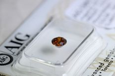 Dark Orange Diamond – 0.52 ct