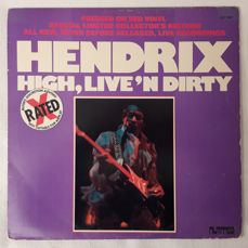 Jimi Hendrix - Set of 9 Vinyl LP Album