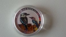 Australia -- 1 dollar 2017 'Kookaburra' exclusive edition -- 1 ounce silver