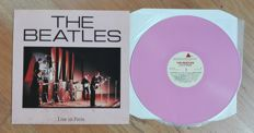 The Beatles- Live in Paris. RARE. 1988 Pink wax. Mono unofficial release.
