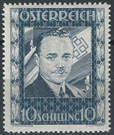 Austria, 1936 - Federal chancellor Dollfuss - Unificato catalogue no. 484