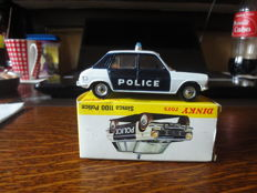 Dinky Toys-ES - Scale 1/43 - Simca 1100 Police No.1450