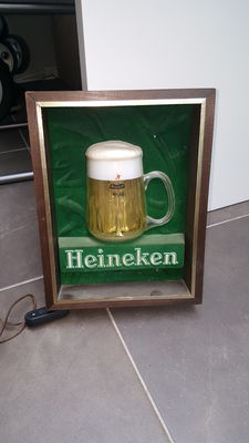 Wall lamp Heineken