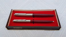 Parker - fountain pen and ballpoint pen vintage Made in Spain.