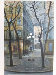 Antonio Rivera - Street Light in Paris
