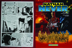 Casini, Stefano - Original table - Nathan Never - #4 giant size (1999)