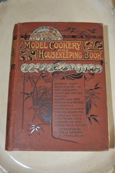 Mary Jewry - Warne's Model Cookery and Housekeeping Book - ca. 1900