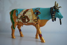 CowParade - Danielle L. Shumaker - type Cowopatra -Large - Retired, quite rare