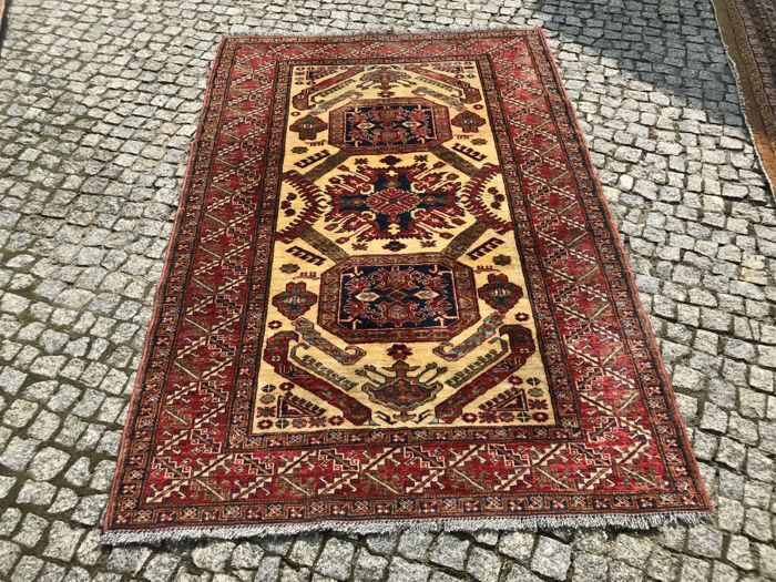 Unique Design - Ziegler  Rug Hand knotted 195x125 cm