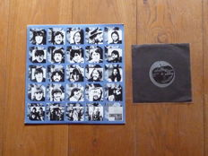 Beatles Christmas album Promo + Flexi - US Pressing ‎– LP Christmas album  Christmas 69 Apple 002  - Flexi US Apple SBC 100 US promo - 7''