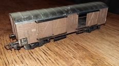 Märklin H0 - 332 - freight carriage, end 1940s