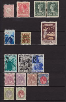 The Netherlands 1876/1932 - Selection of stamps