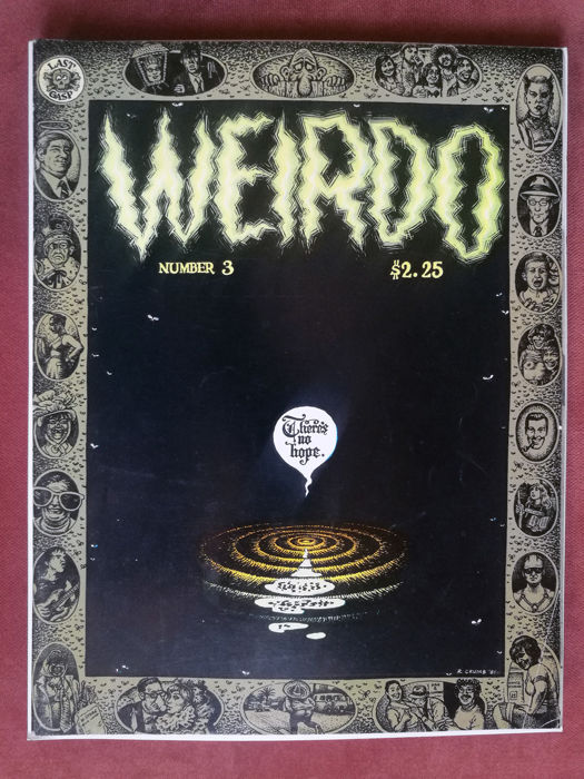Collection Of Robert Crumb's WEIRDO Magazine - X11 SC - (1981/1989)