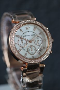 Michael Kors - Parker MK 5491 chronograph women's wristwatch - never worn