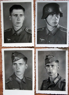 A lot of 60 photos - 1940/1945.-  WO:2. -